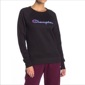 NWT Champion PowerblendFleece Boyfriend Sweatshirt